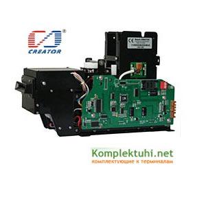диспенсер для выдачи/приёма и считывания/записи карт форматов RFID и IC CREATOR CRT-571