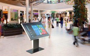 Интерактивные киоски TouchPlat - бесконтактные технологии, закалённое стекло, полированная сталь