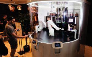 Вендинговые автоматы UVENCO Coffee point на IFFF Moscow