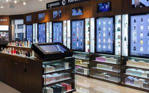 Интерактивные терминалы в цифровом магазине Sephora