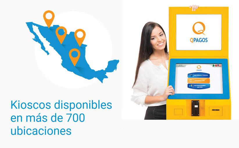 QPAGOS устанавливает платежные терминалы в метро Мехико