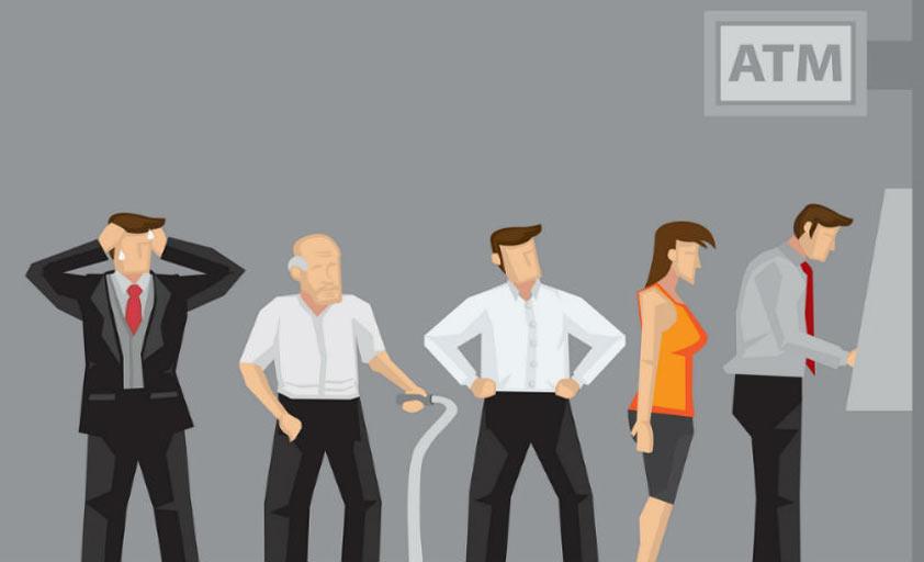 Большинство клиентов довольны автоматизированными банковскими отделениями