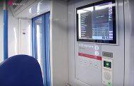 Новые поезда московского метро оборудованы интерактивными картами