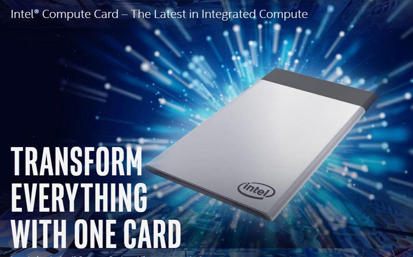Карточный компьютер Intel изменит устройства самообслуживания