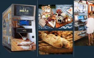 Автомат по выпечке хлеба Le Bread Xpress готовит французские багеты за 10 секунд