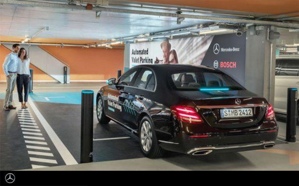 Daimler представил автоматическую парковку для автономных автомобилей