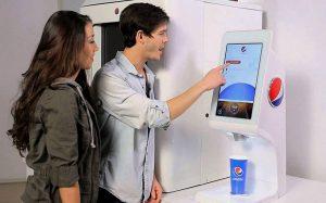 Вендинговые автоматы PepsiCo позволяют выбрать вкус напитка