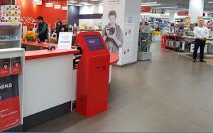 Терминалы выдачи заказов - в магазинах «М.Видео»
