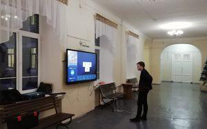 Интерактивное расписание СИГМАПРО заработало в лицее №5 Казани
