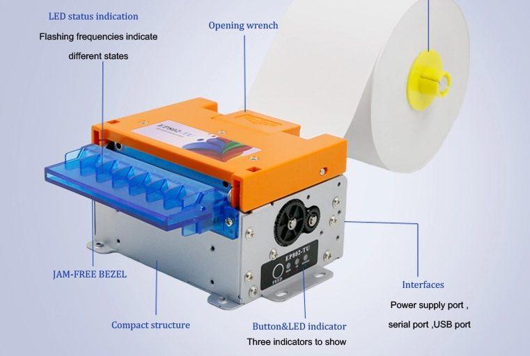 Новые встраиваемые термопринтеры MASUNG