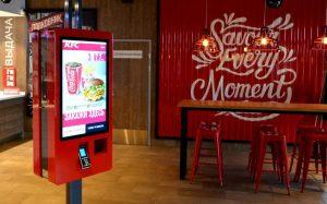 Вслед за Burger King сеть KFC выбирала терминалы российского производителя