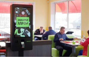 Киоски самообслуживания TouchPlat в сети кафе «Помпончик»