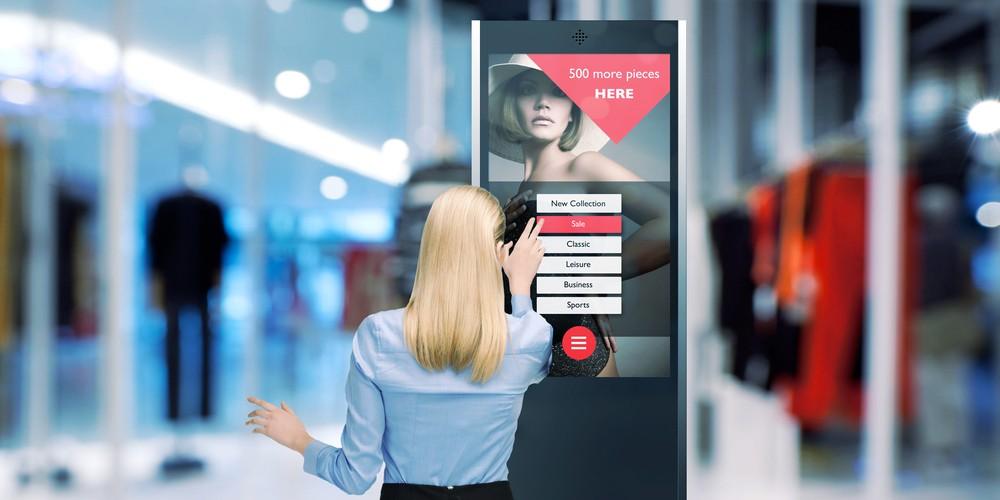 Интеллектуальная реклама на интерактивном терминале в ТЦ