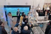 Интерактивные дисплеи установлены в эмпирическом центре TIENS