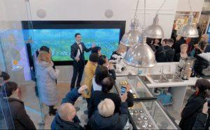 Интерактивные дисплеи Digital Signage в эмпирическом центре TIENS