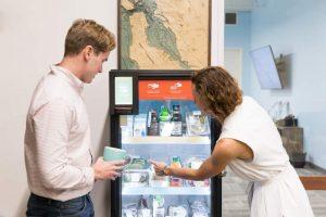 Умные холодильники со здоровой едой заменят вендинговые автоматы в офисах