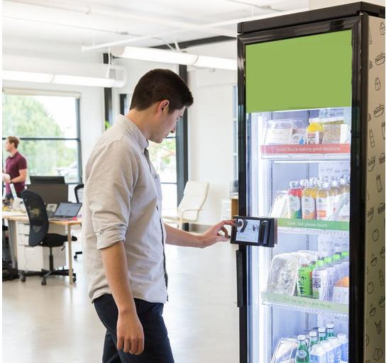 умный вендинг - торговый автомат формата «grab-and-go»