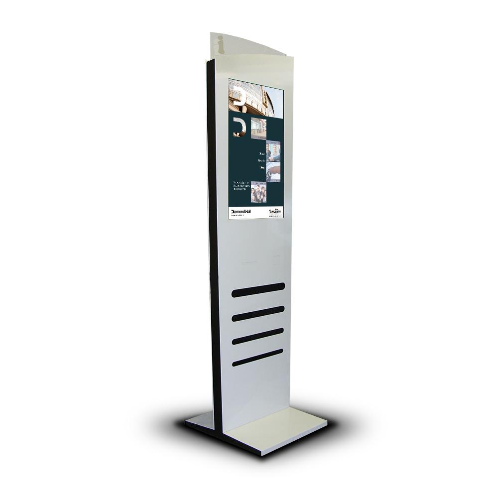 Напольный сенсорный киоск «Платан 32»