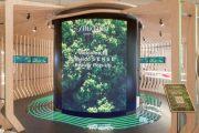 Shiseido предложила пассажирам «интерактивное путешествие»
