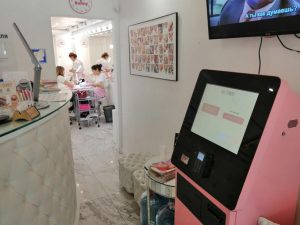 Электронные кассиры в салонах красоты «Nail Sunny»