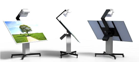 Интерактивные кульманы с длиннофокусными или короткофокусным проекторами