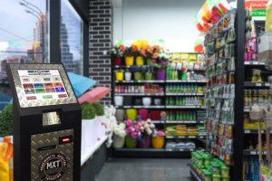 Платежные терминалы TouchPlat в сети магазинов «Мосхозторг»