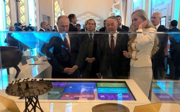 Интерактивное оборудование в обновленном павильоне «Казахстан» на ВДНХ