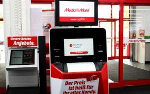 Вендинг-автоматы Media Markt для сбора старых мобильных телефонов