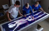 Интерактивный стол помогает студентам изучать анатомию