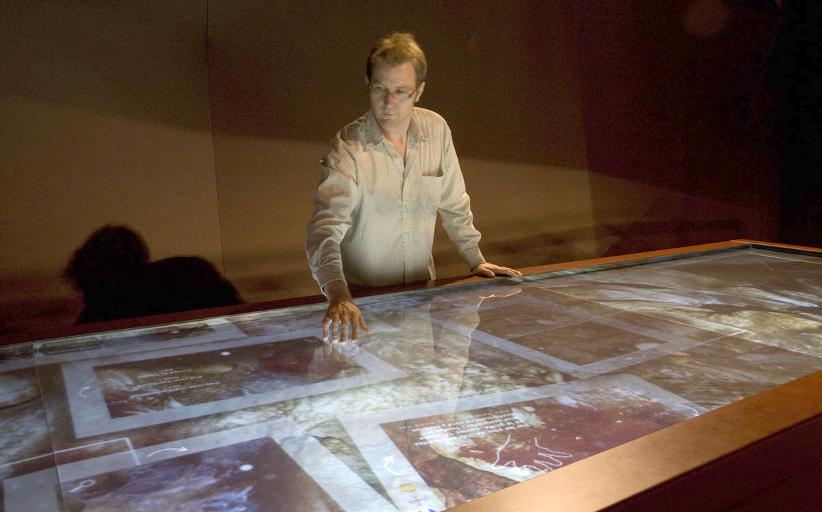 Гигантский интерактивный стол в пещере Гаргас позволит прикоснуться к истории в буквальном смысле