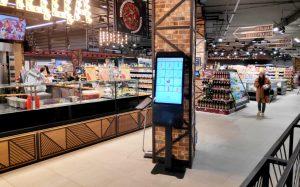 Терминалы самообслуживания в магазинах «Виталюр»