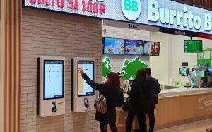 Система самообслуживания Тачплат в ресторанах «Burrito Bar»