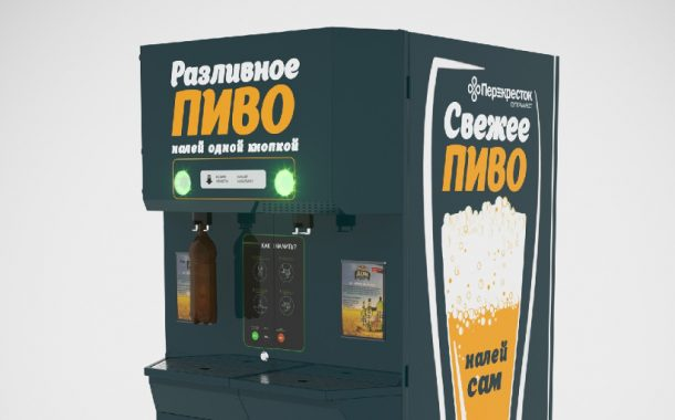 Пивные автоматы «Балтика» появились в торговых сетях