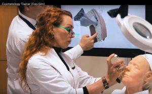 Первый в мире интерактивный тренажер для косметологов разработан Ronplaytouch