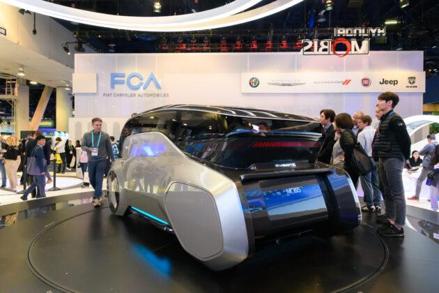 Беспилотный автомобиль Hyundai M.Vision S