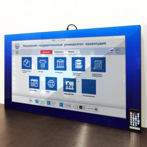 Интерактивные панели «Лиги Рекламы»