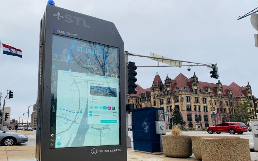 Интерактивные киоски Smart City заработали в Сент-Луисе