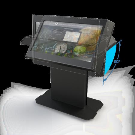Интерактивный стол с поворотным дисплеем «LR Optima»