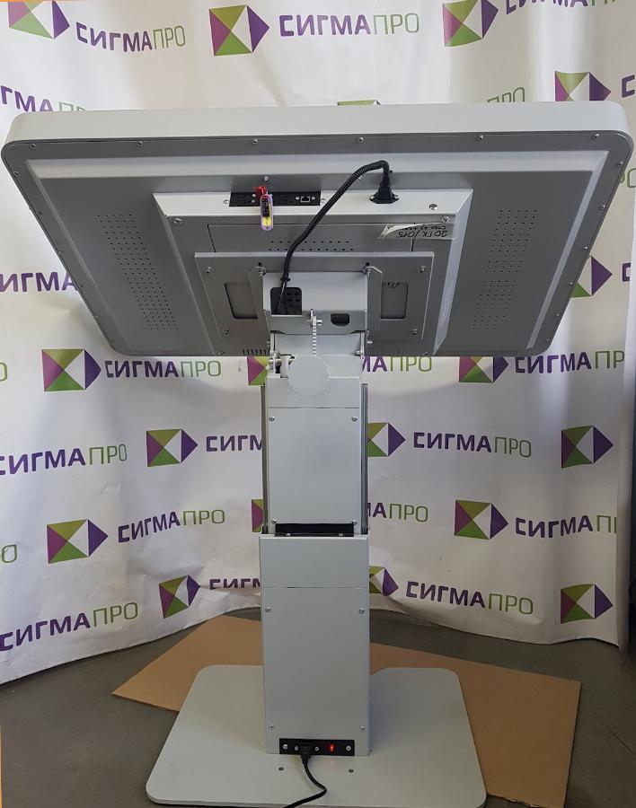 Интерактивный комплекс «Сенсорный стол» вид сзади