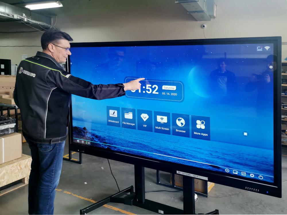 Чем отличается интерактивная панель от интерактивной доски?