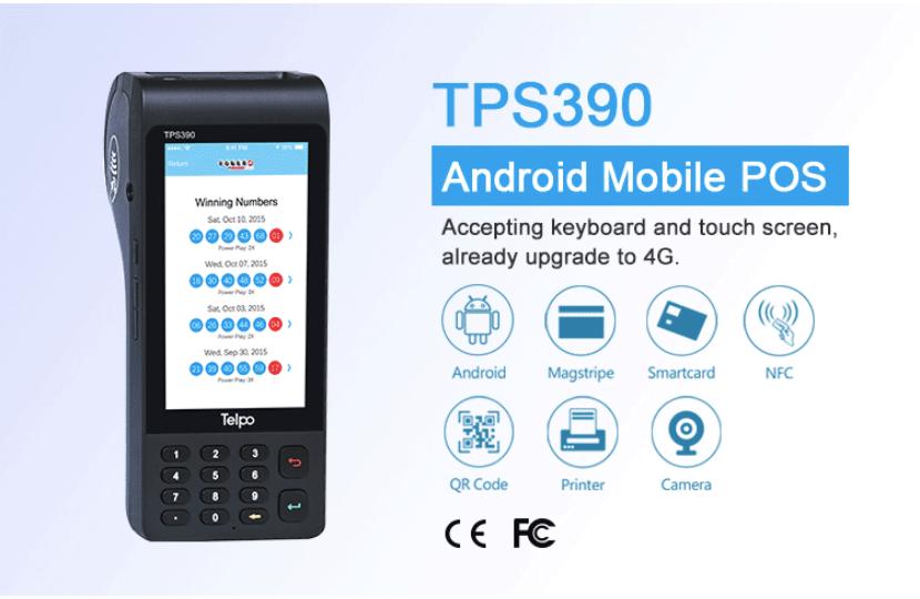 Мобильная касса TPS 390