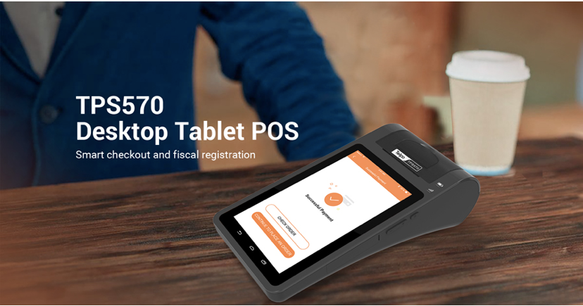 Мобильный кассовый аппарат TPS 570