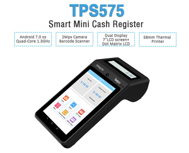 Онлайн-касса TPS575